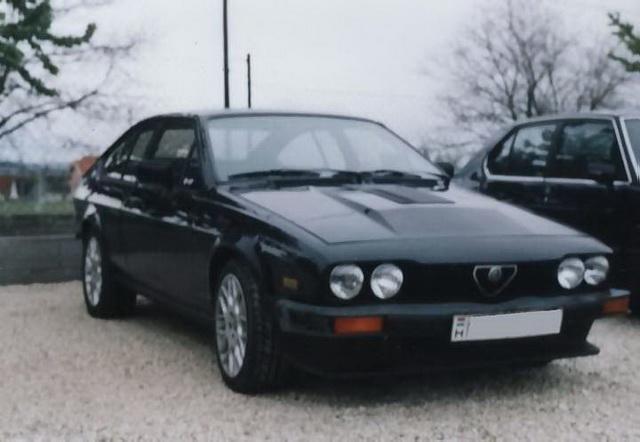 Alfa Romeo GTV6 3.0 Zsámbék 2001