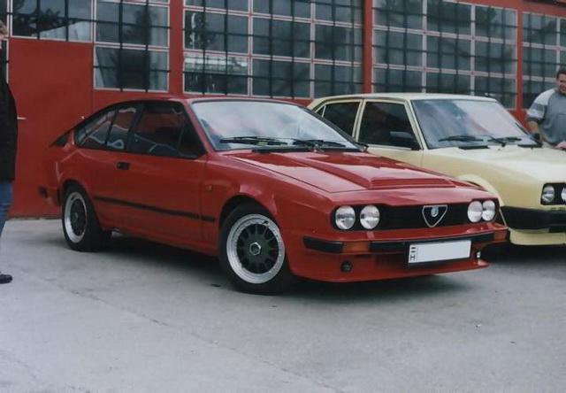 Alfa Romeo GTV6 2.5 Zsámbék 2001