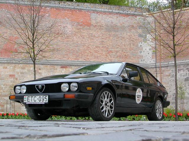 Alfa Romeo GTV6 3.2 24V Esztergom 2007