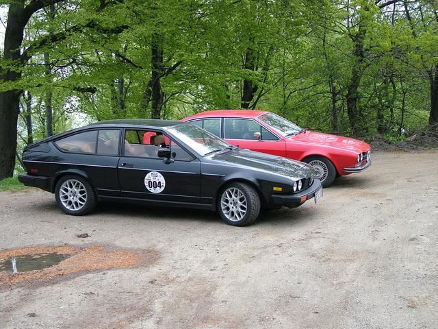 Alfa Romeo GTV6 3.2 24V & Alfetta GTV 2.0 Galyatető 2006