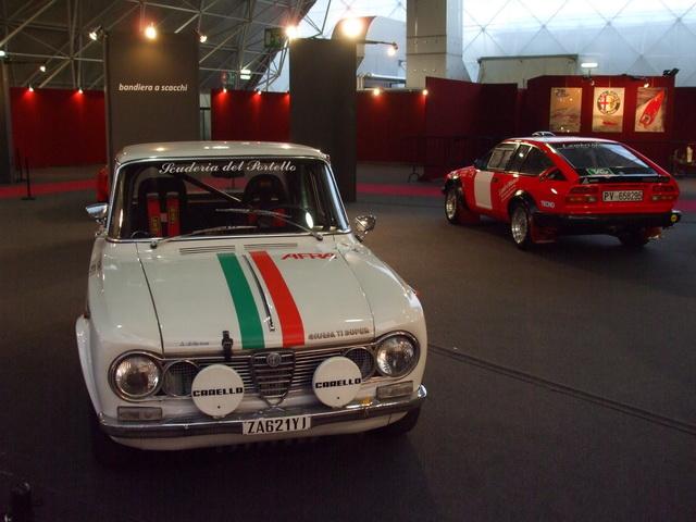 Alfa Romeo Guilia Super TI & GTV6 2.5 Gr.4 Milano Centenario 2010