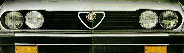 Alfa Romeo GTV6 2.5 front