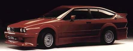 Alfa Romeo GTV6 Evo Prototipo