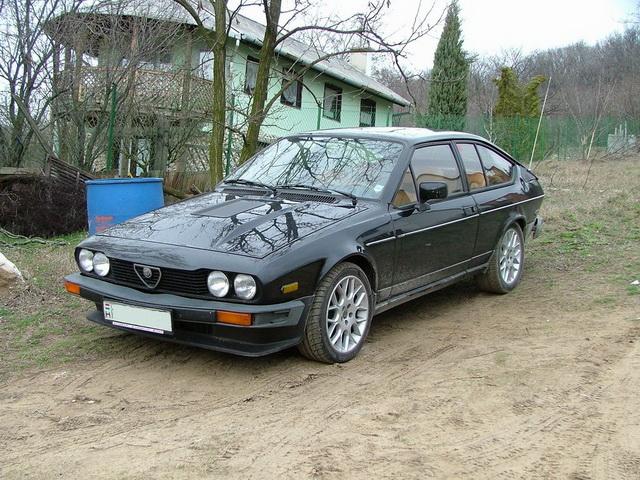 Alfa Romeo GTV6 3.0 2003