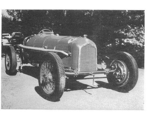 Tipo B 1935 Dubonnet felfüggesztéssel